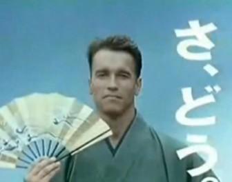 13 gwiazd filmu w dziwacznych japońskich reklamach