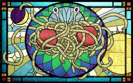 latający potwór spagetti