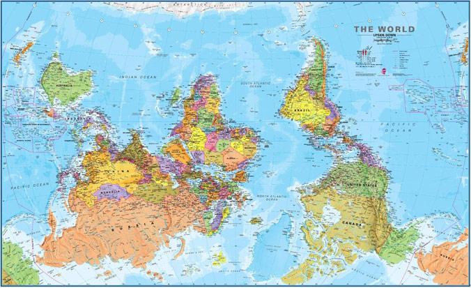 ciekawe mapy