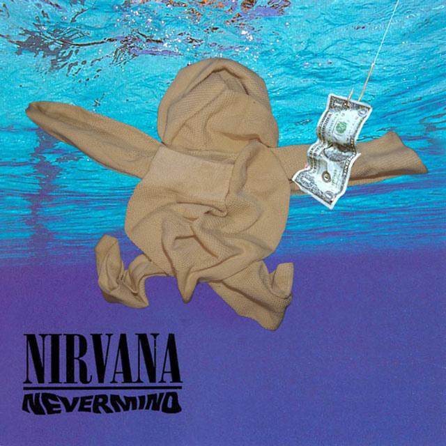 dziwne okładki płyt - nirvana