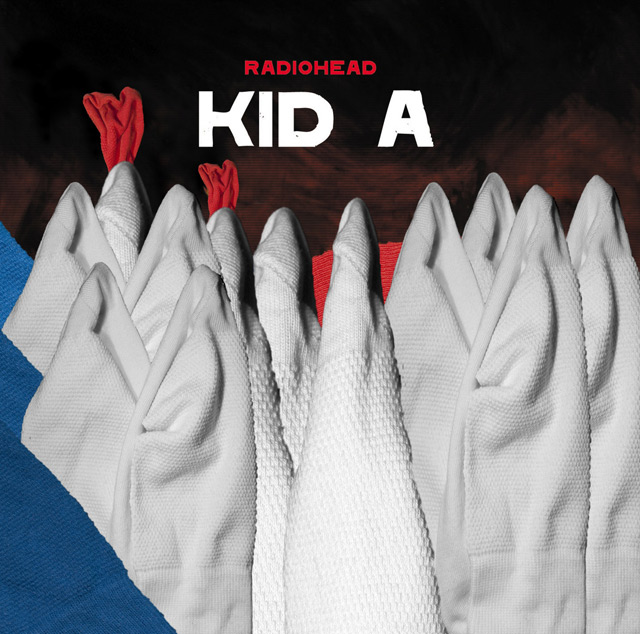 dziwne okładki płyt - radiohead