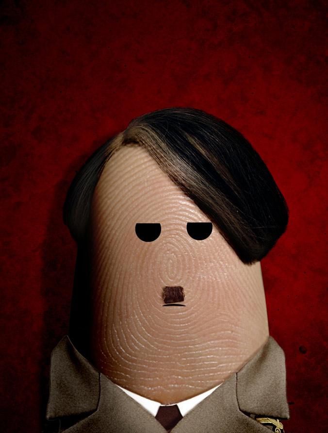 portret hitlera