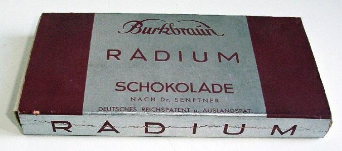 radioaktywne produkty