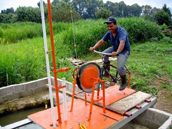 kreatywny recykling rowerów