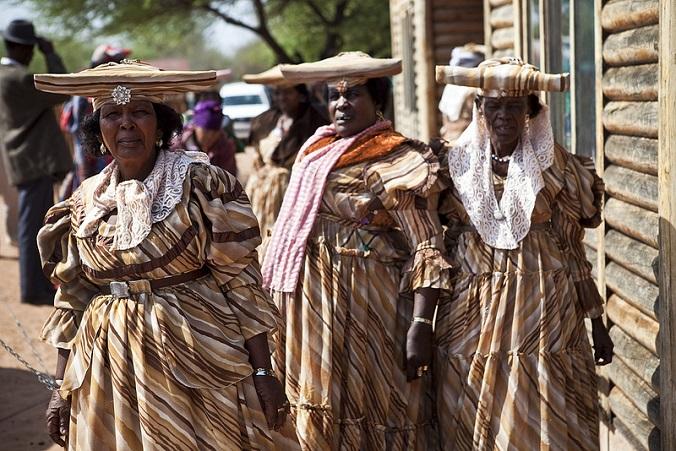 afrykańskie stroje