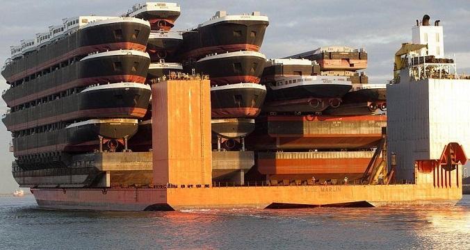statki transportowe