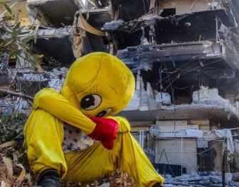 Wojna w Syrii zdołowała bohatera kreskówki