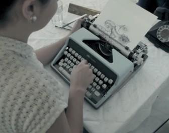Maszyna do pisania jako maszyna do rysowania