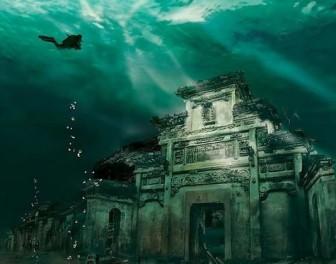 W głębinach chińskiego jeziora skrywają się dwa starożytne miasta