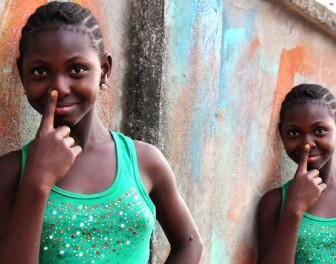 Animowane gify ukazują sympatyczne oblicze sponiewieranej wojnami Liberii