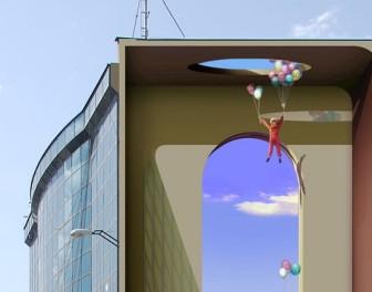 Surrealistyczne murale na ulicach Teheranu
