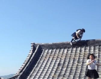 Spektakularne wygłupy japońskich uczennic
