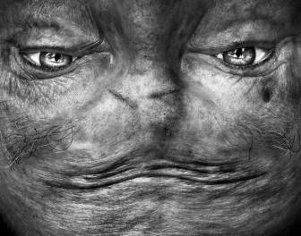 Dziwne twarze ukryte w ludzkich czołach