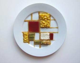 Jedno danie podane na 10 różnych sposobów inspirowanych stylami znanych malarzy