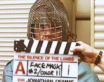 Oto różne maski, jakie Anthony Hopkins testował do roli Hannibala Lectera