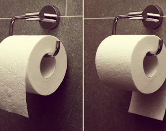 Oto rozstrzygający argument w odwiecznym sporze dotyczącym orientacji papieru toaletowego