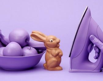 3 sposoby znęcania się nad czekoladowymi króliczkami
