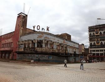 Architektura starych afrykańskich kin