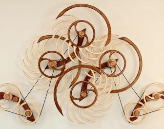 Hipnotyczne rzeźby kinetyczne
