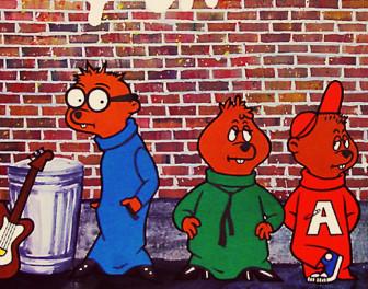Smętny urok zespołu Alvin and the Chipmunks słuchanego w zwolnionym tempie