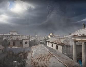Animowana rekonstrukcja zagłady Pompejów